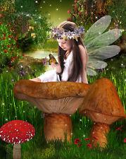 Beautiful Fantasy Fairy Digital  Backgrounds