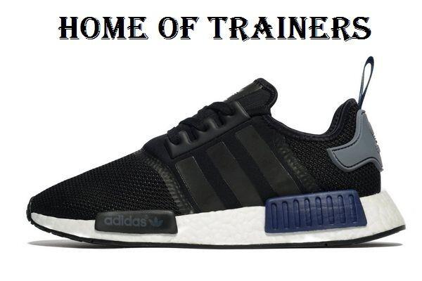 Adidas Originals All NMD_R1 Negro Trainers All Originals Talla  (244264) 7474c9