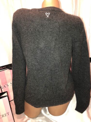 100 Sweater Cashmere Secret Victorias 120 Medium Bombshell Grey EB5xn6w