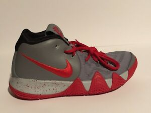 new styles f21f3 eccda Details about NIKEID KYRIE 4 RED and GRAY wmns SIZE 9.5 style AR3868-994