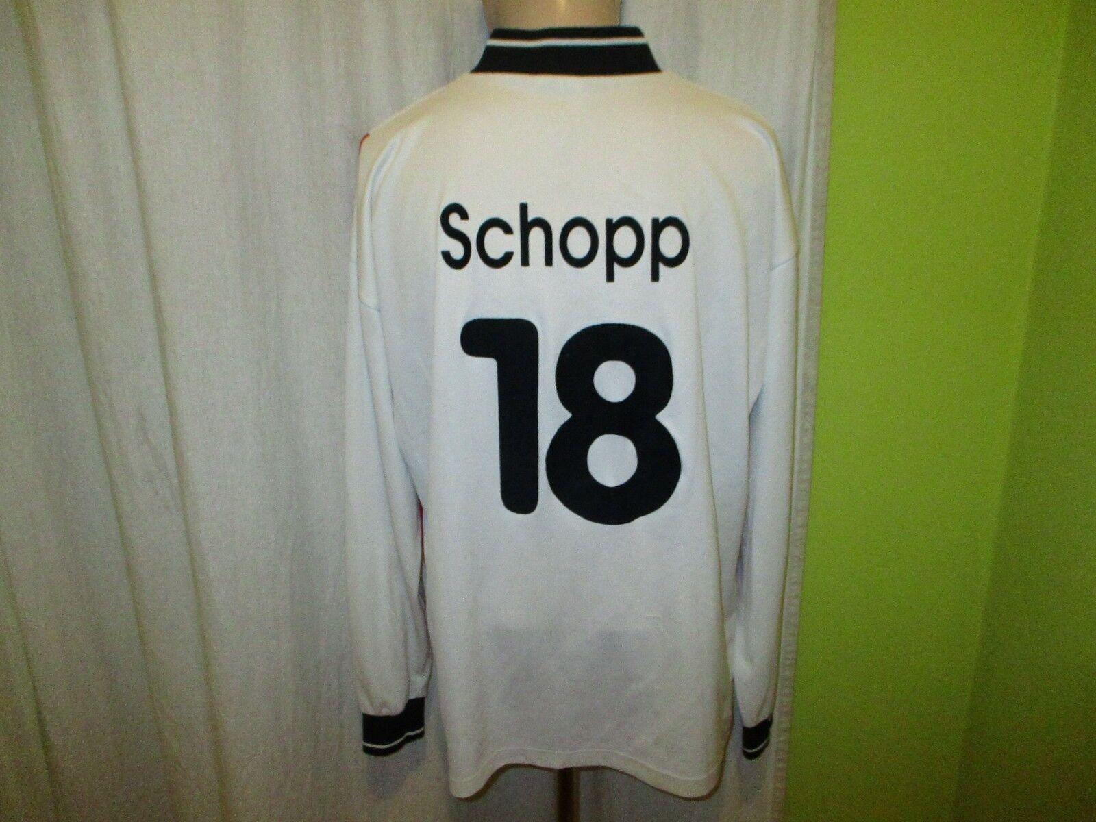 Hamburger SV uhlsport UEFA-CUP Matchworn Trikot 1996/97 + Nr.18 Schopp Schopp Nr.18 Gr.XL 678a27