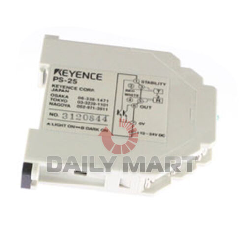 NEW Keyence PS-25 Photoelectric Sensor Amplifier Unit NPN DC Type