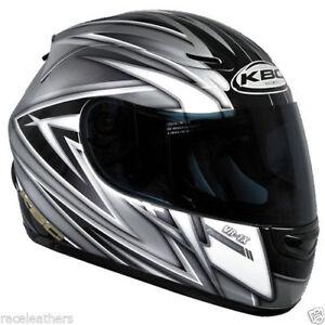 Cheap Sale Kbc Vr1x Performance Silver Fullface Motorcycle Motorbike