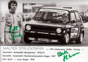 Walter-Struckmann-Automobil-Bergmeister-1970-BMW-original-signiert-signed