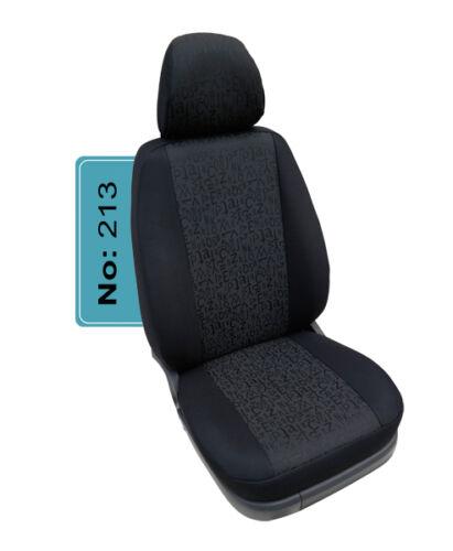 VW T5 T6 TRANSPORTER-CARAVELLE MAß Schonbezüge Autositzbezüge für Fahrer 213