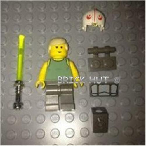 NEW 4502 V RARE LEGO STAR WARS DAGOBAH LUKE SKYWALKER PAC /& BEDROLL