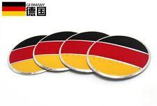 4Pcs German Flag Logo Auto Wheel Center Hub Caps Sticker Emblems For CC POLO GOL