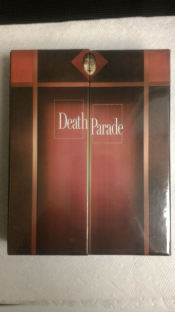 Death Parade: The Complete Series Limited Edition (Blu-ray/DVD, 2016, 4-Discs)