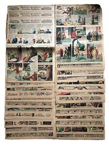 LOT-16-1936-Flash-Gordon-Jungle-Jim-Newspaper-Color-Sunday-Platinum-Age-Comics