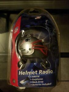 New England Patriots Mini-Helmet Radio rare collectible