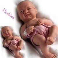 Berenguer La Newborn First Day Anatomically Correct 14 Full Vinyl Baby Girl