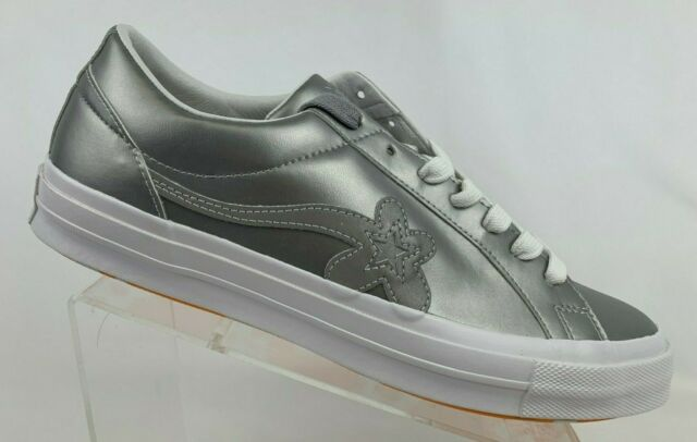 Converse Tyler The Creator Golf Le Fleur 3m One Star Ox Metallic Silver 162134c For Sale Online