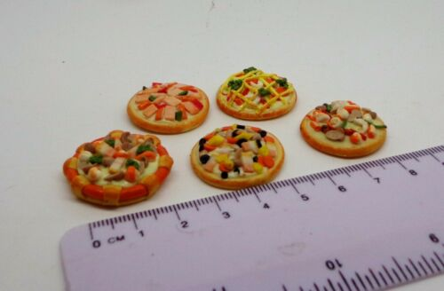 1:12 SCALA 1 X PIZZA CASA delle Bambole Miniatura Negozio di alimentari Accessorio Casuale