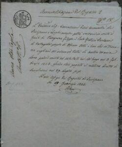 1844-LUNIGIANA-MANOSCRITTO-EREDITA-039-TERRENO-DI-OFFIANO-A-FRATELLI-DI-CASTAGNOLA