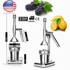 Manual Juicer Hand Press Commercial Citrus Presser Orange Lemon Fruit Squeezer