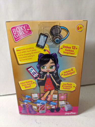 Boxy Girls Riley Fashion Girl Doll with 4 Blind Surprise Boxes New
