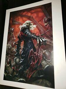 KNULL Venom #27 White Virgin Variant SKAN Exclusive IN HAND Virus