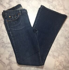 Blue Brand Lucky Classic 28 6 X Distressed da Jeans donna Size OaSSzx