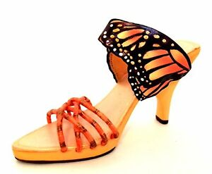 Raine-Just-The-Right-Shoe-Monarch-Butterfly-25364-Miniature-Retired-2002