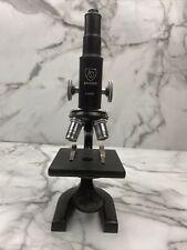 New Listingvtg Ao Spencer School Microscope 3 Objectives Black Heavy 275350 Tate College Ks