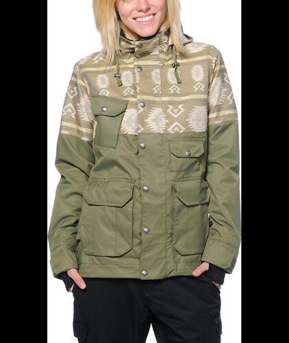 Board Imperméable Femme De Xs Burton Ski Veste Et Sz Isolée D'Hiver Snow wxY0OY4Xq