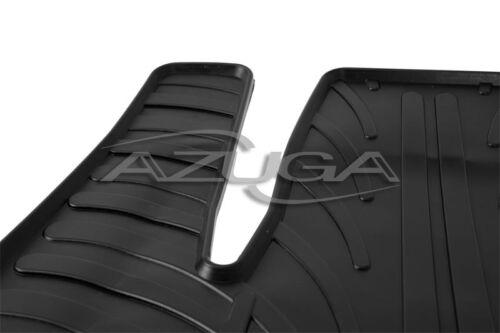 Gummimatten für Opel Meriva B ab 5//2010 Gummi-Fußmatten inkl Befestigungs-Clips