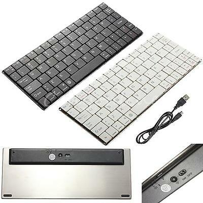 Aluminum Ultra Slim Mini Wireless Bluetooth Keyboard For Windows Android IOS PC