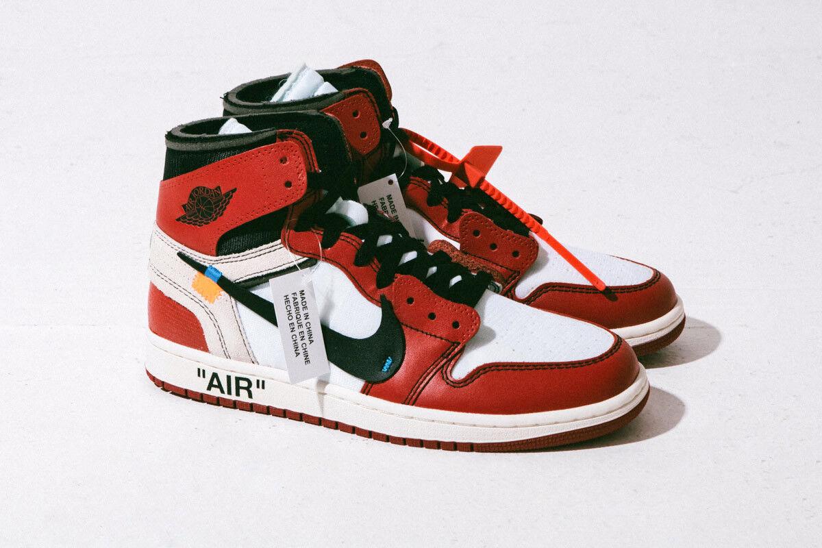 Nike Air Jordan 1 OFF-WHITE x OFF-WHITE 1 UK11 47b81b