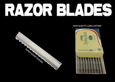 Hairdresser hair Razor Blades feather * 10 Pieces Blades *