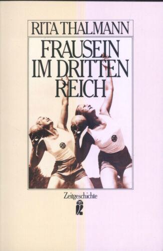 1 von 1 - Rita Thalmann - Frausein im Dritten Reich