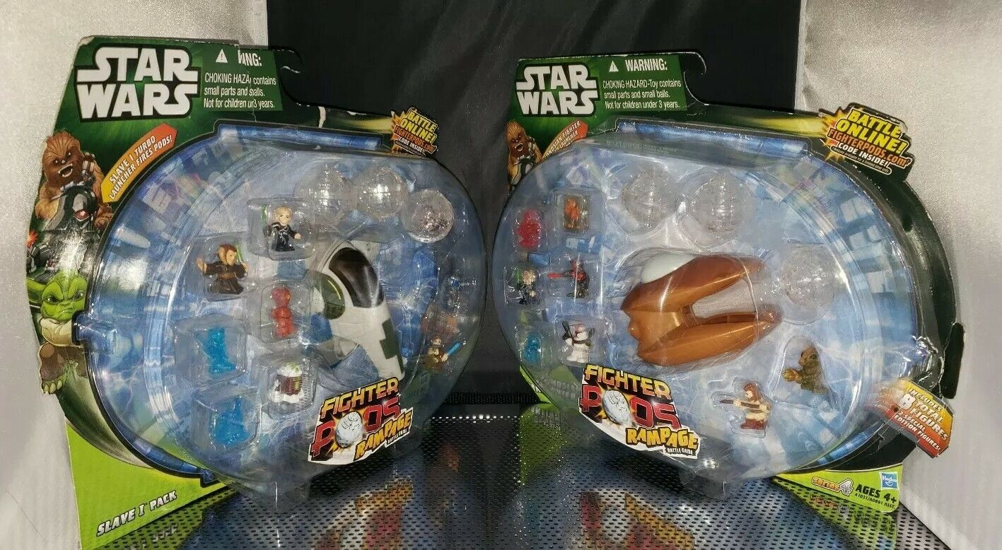 Slave 1 Pack Fighter Pods series 4  Jango Fett   Geonosian lot