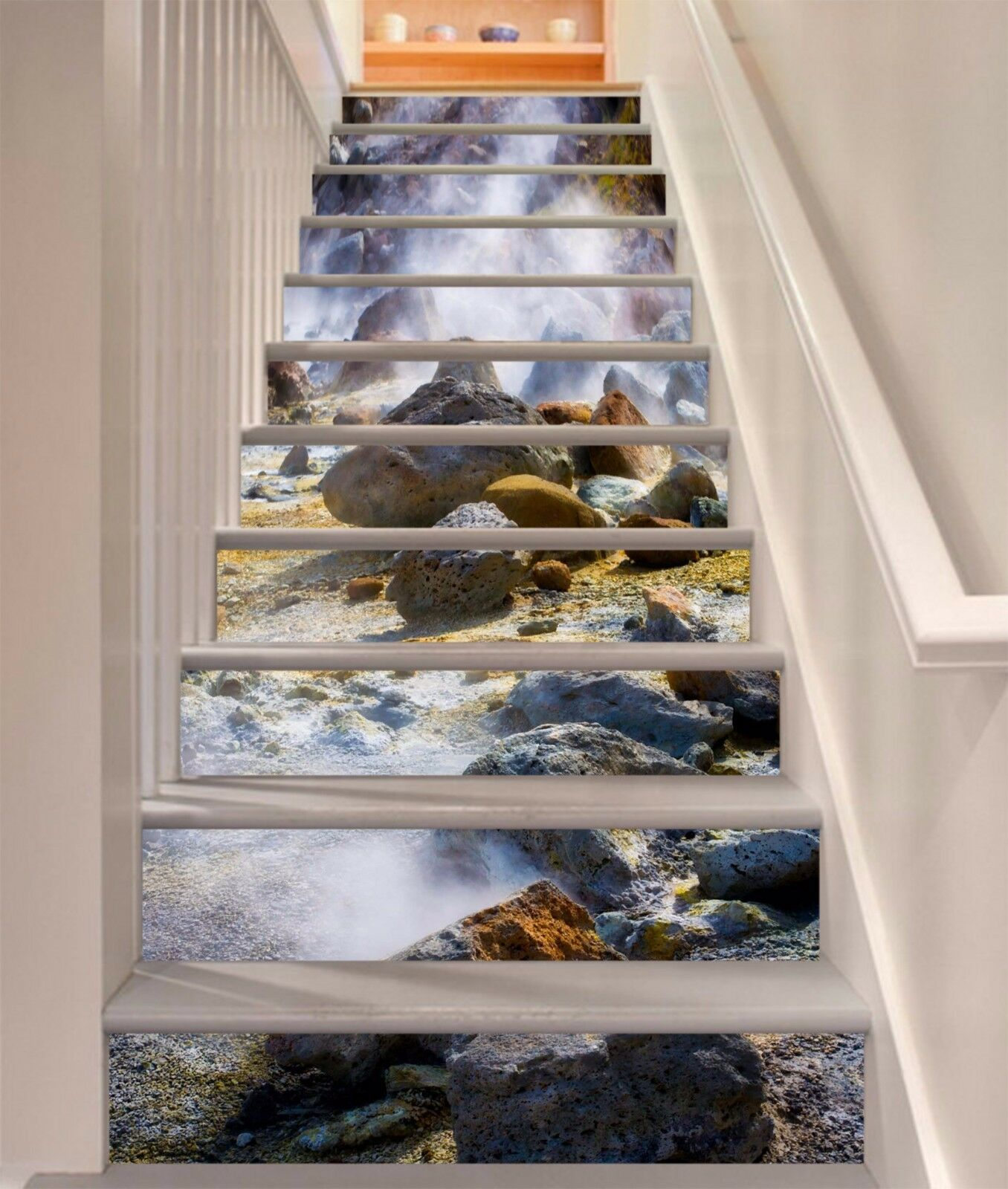 3D Stone Nature 730 Stair Risers Decoration Photo Mural Vinyl Decal Wallpaper AU