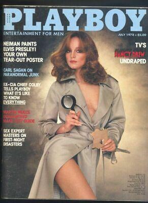 Playboy July 1978 VG Karen Elaine Morton TVs Nancy Drew