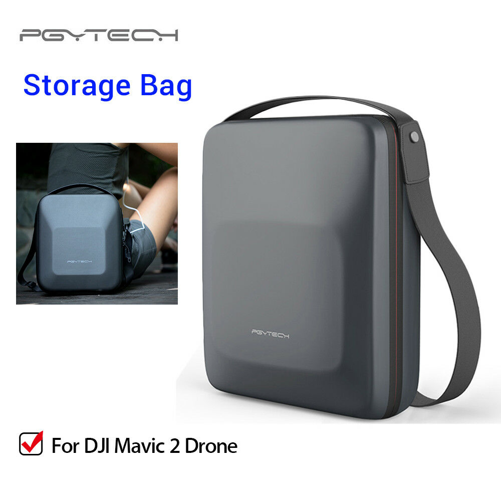 PGYTECH Carrying Case Storage Bag Travel Hardshell Box For DJI Mavic 2 Drone RC