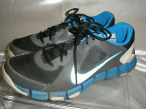 Nike-Flex-Show-Tr-2-Running-Shoes-Mens-SZ-10-44-SNEAKERS-610226-001-Black-Blue