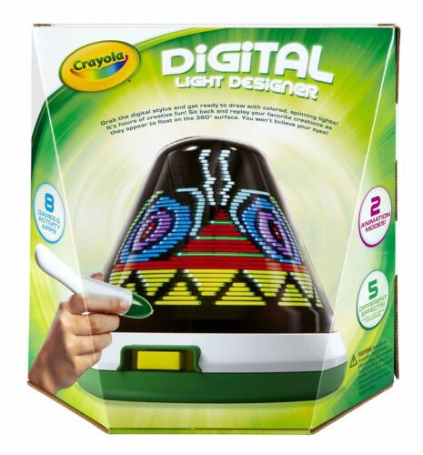 NEW Crayola DIGITAL LIGHT DESIGNER w// STYLUS Create /& Animate Games /& Apps
