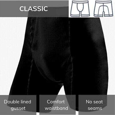 Equetech Mens Boxer Shorts Classic Riding// Cycling Underwear XS-XL UK MADE
