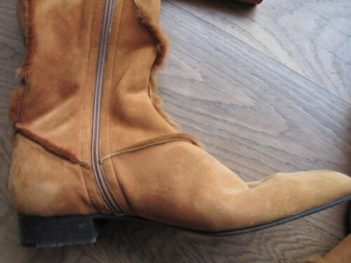 Stiefel Eleganter Edel Escada Brauner Lammfellstiefel 40Topzustand Größe R54j3AqcL