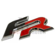 FR Emblem Zeichen Chrom Schriftzug Aufkleber 3D Logo für Cupra Ibiza Altea Leon
