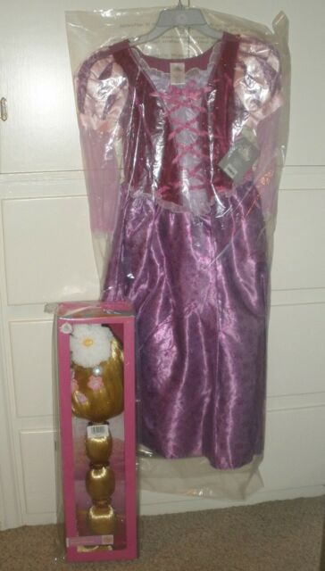Disney Store Authentic Tangled Rapunzel Princess Costume Dress Size 11//12 13