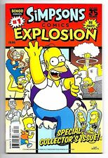 SIMPSONS COMIC EXPLOSION #1 - 1st Print - 2014 - Bongo Comics!