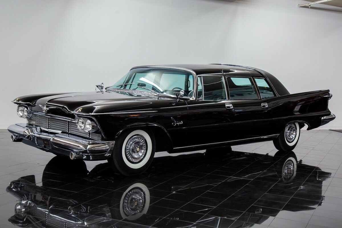 1958 Imperial Crown Limousine by Ghia