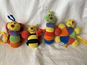 Mothercare Bébé Landau Bébé Poussette Berceau suspendu Hochet Coloré Soft toys