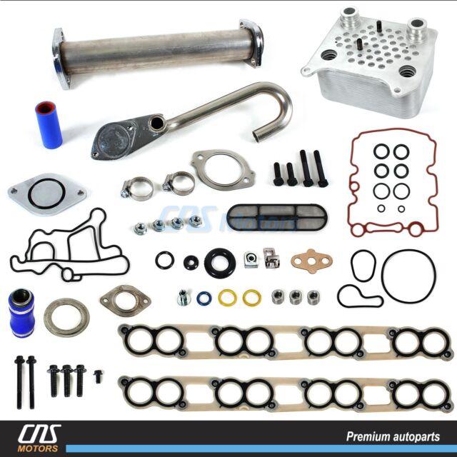 Upgraded Oil Cooler Kit & EGR Delete Kit w/ Gaskets Ford 6.0L E-350 F-250 F-350