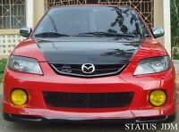 Jdm Mazda Protege 5 Yellow Fog Light Overlays Tint Vinyl Axela 02 03 Zoom 2.0