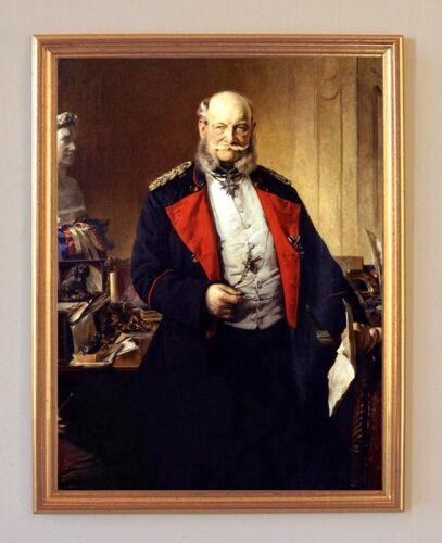 König von Preußen Deutscher Kaiser LW Hohenzollern A2 143 Wilhelm I