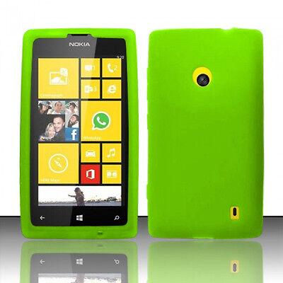 For Nokia Lumia 521 Rubber SILICONE Skin Case Phone Cover Accessory