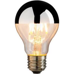 Silver Bowl Light Bulb: Image is loading LED-Antique-Filament-Silver-Bowl-A19-Light-Bulb-,Lighting