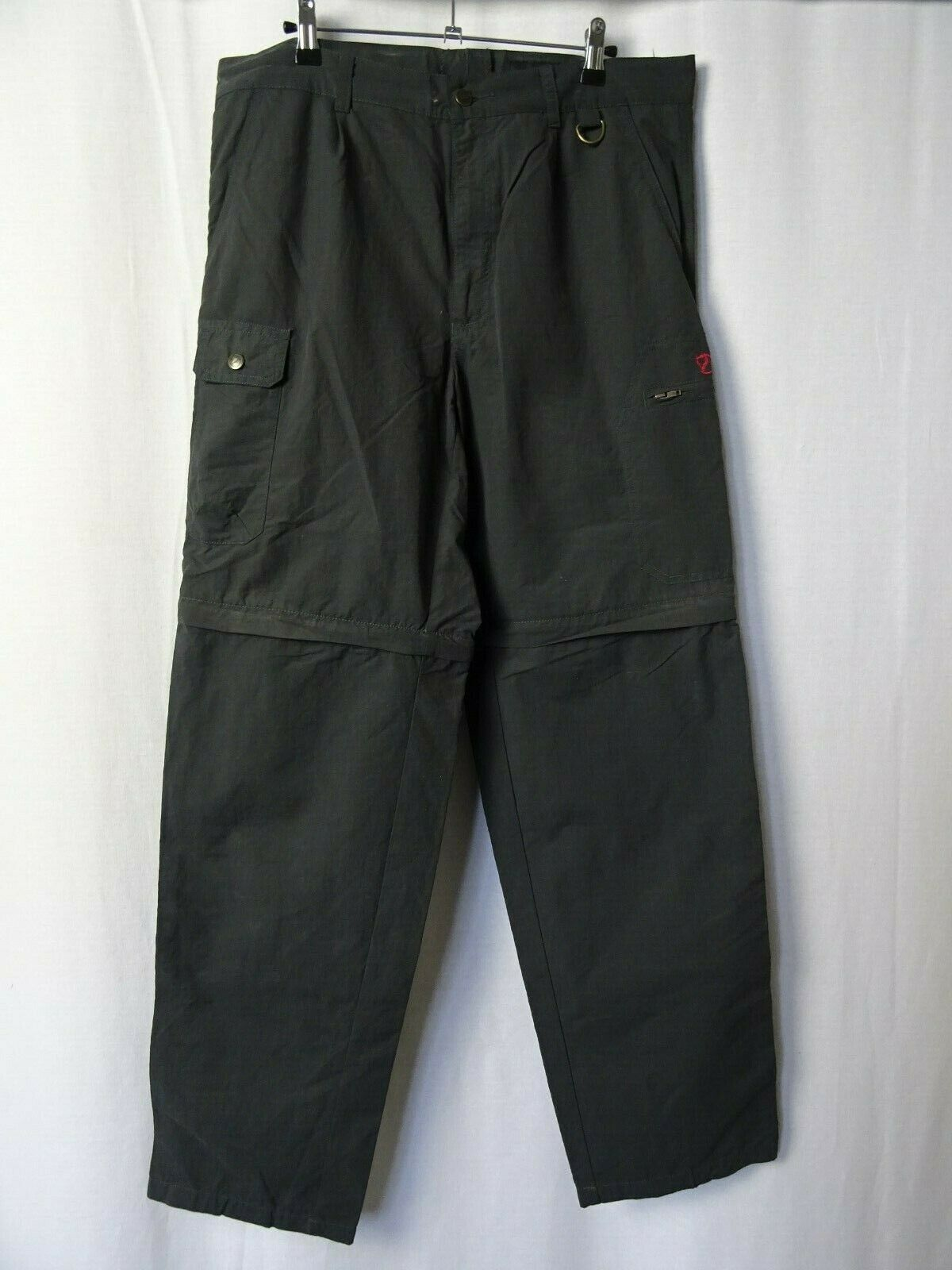 Men's Fjällräven Zip-Off Trousers Outdoor Pants W34 L33