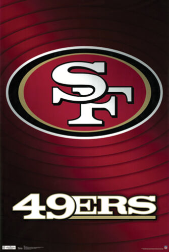 #Z031 SF 49ers Poster 24x36